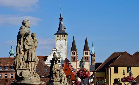 Würzburg, Main Bridge, Swiss Francs, Historically, Dom