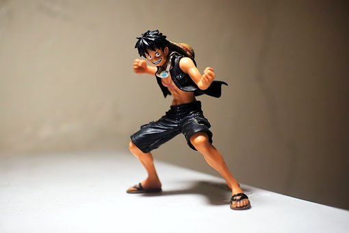 Luffy, Toy, Figurine, Male, Young, Man, J, Japanese
