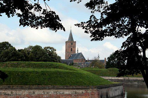 Naarden, Red Light District, Large Church, Fortress