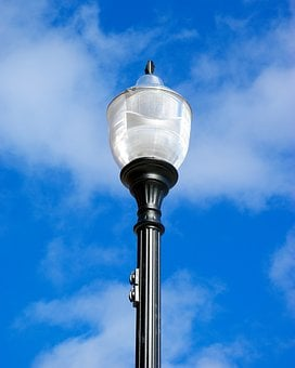 Sturgeon Bay Street Lamp, Lamp, Street, Light, Lighting