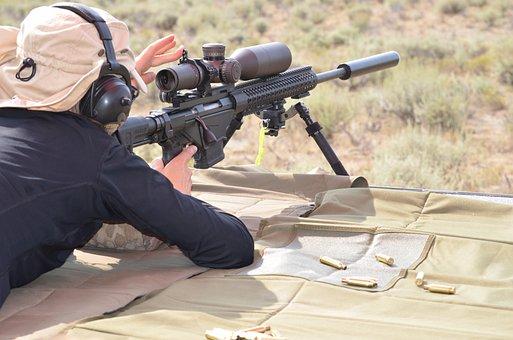 Long Range Shooting, Nomad Rifleman, Rifle, Gun