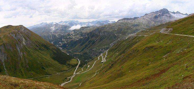 Switzerland, Landscape, Mountains, Alpine, Alps