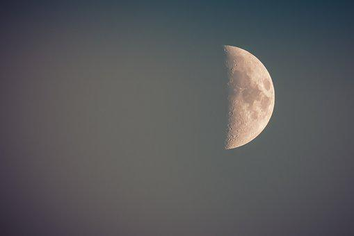 Moon, Night, Stars, Moonlight, Dark, Mystical