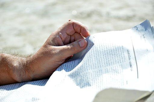 Hands, Newspaper, Read, Read Newspaper, News, Paper