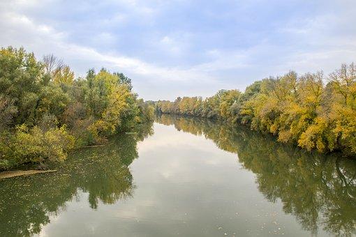 All, Autumn, Colors, River, Nature, Landscape, October