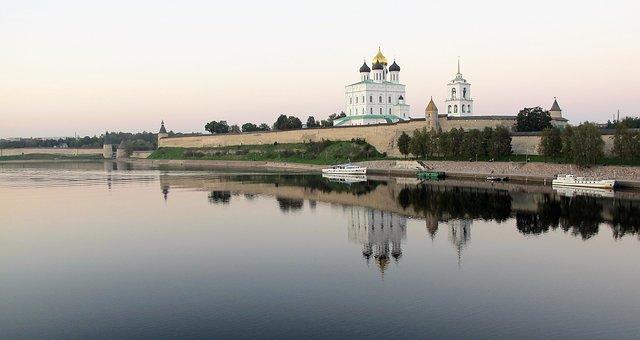 Russian, Pskov, Pskow, Church, Orthodox Church