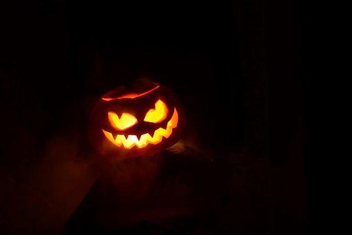 Halloween, Pumpkin, Autumn, In The Fall Of, October