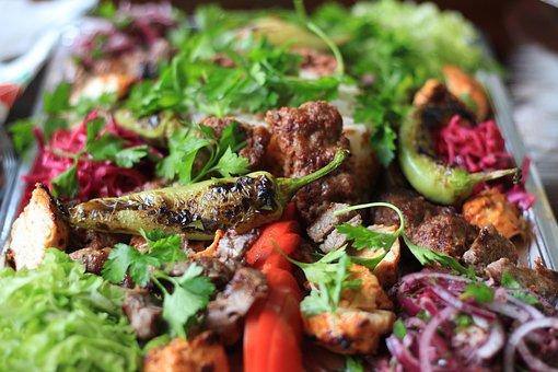 Food, Restaurant, Kebap, Turkish, Lamb Skewer