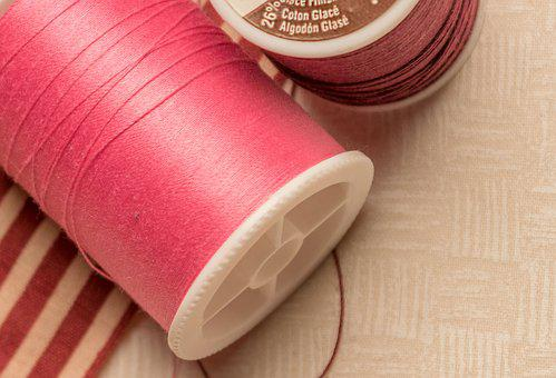 Sewing, Needle, Sew, Fabric, Thread