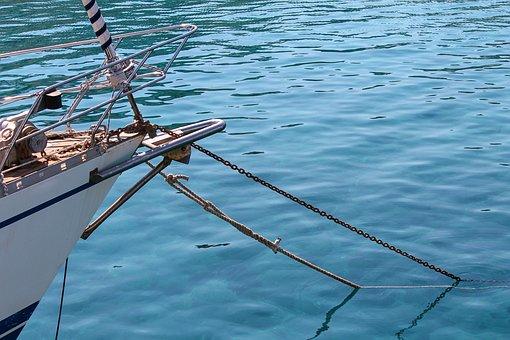 Boat, Anchor, Ship, Water, Ship Anchor, Sea, Anchorage