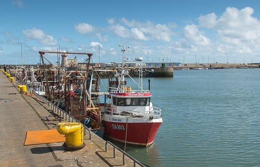 Harbour, Boat, Port, Water, Sea, Sky, Maritime, Harbor