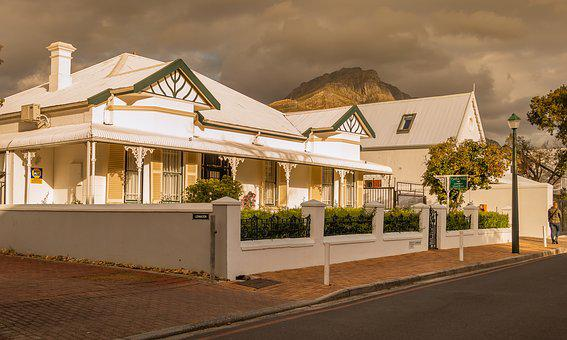 House, Architecture, Lighting, South Africa, Cape Dutch