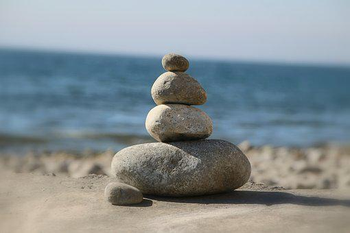 Stones, Relaxation, Wellness, Nature, Spa, Meditation