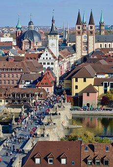 Würzburg, Main Bridge, Swiss Francs, Historically, Main
