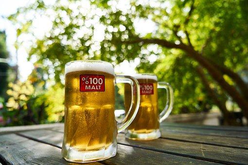 Beer, Bar, The Drink, Alcohol, Glass, Foam, Beverage