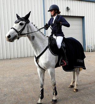 Horse, The Horse, Horseback Riding, Dżokejka, Girl