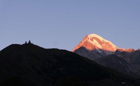 Mountains, Caucasian, Landscape, Vacation, Travel