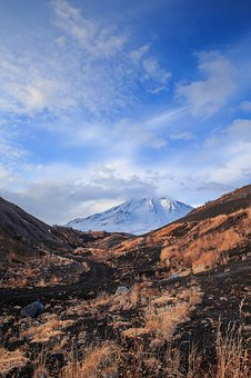 Nature, Mountain, Volcano, Landscape, Sky