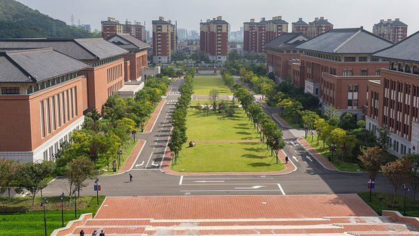 Zhejiang University, Zhoushan, School, Campus, Building
