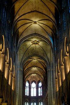 Dom, Church, Architecture, France, Famous, Interior