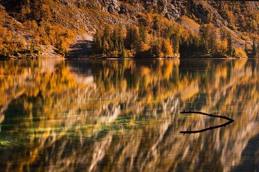 Königssee, Upper Lake, Autumn, Berchtesgaden, View