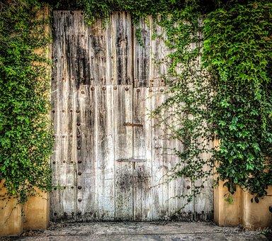 Gate, Fence, Creepy, Entrance, Rural, Barn Wood, Garden