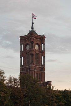 Tower, Berlin, Building, Capital, Sky, Alexanderplatz