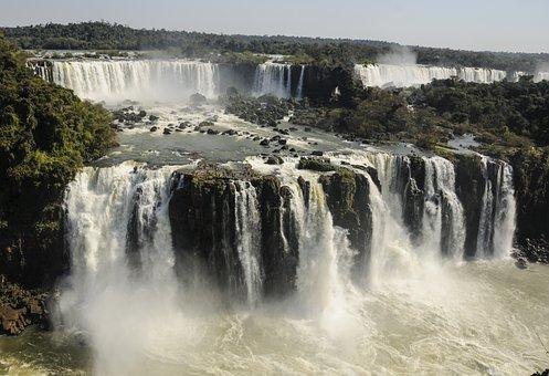 Iguasu, Brazil, Argentina, Parana, Nature, Flow, River