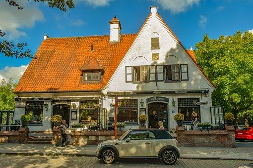 Belgium, Brugge, Architecture, Building, City, Old