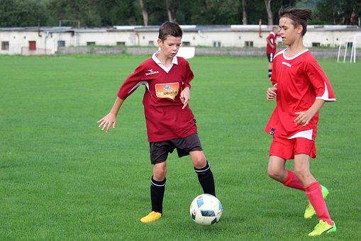 Football, Pupils, Older Pupils, Match, Clash Of The