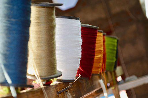 Colourful, Threads, Color, Sew, Yarn, Role, Wool