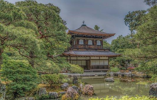 Kyoto, Japan, Temple, Ginkaku-ji, Culture, Ancient
