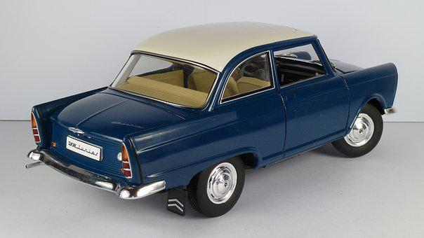 Dkw, Junior, 1961, 1x18, Model Car, Revell