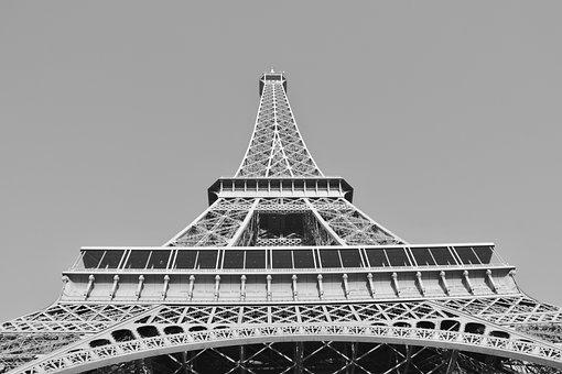 Eiffel Tower, Eiffel Tower Monument Historic, Paris