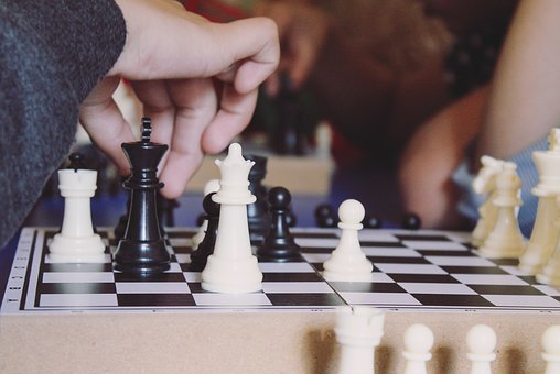 Game, Chess, Competition, Move, Play, King, Board