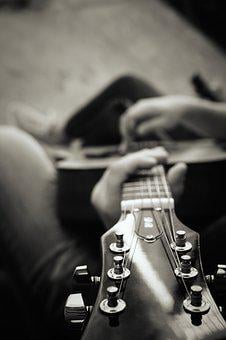 Guitar, Music, Instrument, Rock, Acoustic, String