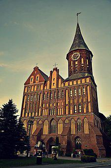 Cathedral, Konigsberg, Kaliningrad, Historically