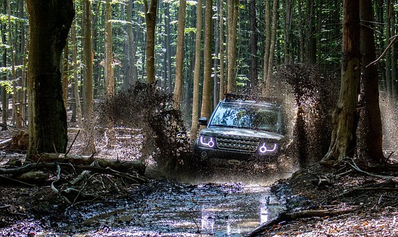 Offroad, Carpathian Mountains, Landrover, Discovery