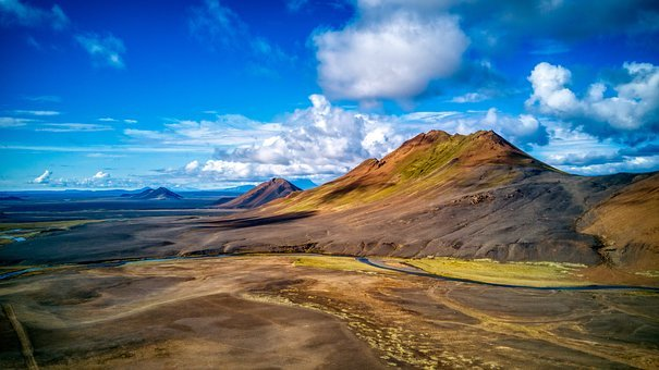 Iceland, View, Landscape, Nature, Clouds, Amazing