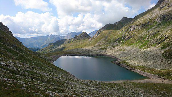 Mountains, Lake, Nature, Landscape, Water, Alpine, Sky
