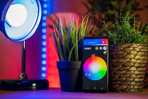 Smart Home, Mobile Phone, Smartphone, Smarthome, Light