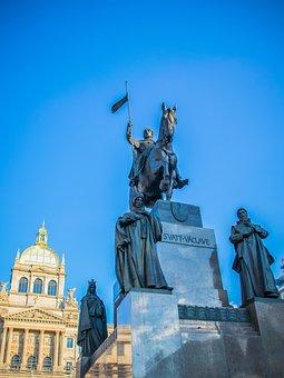 Prague, The Sculpture, Symbol, Statuary, Monument