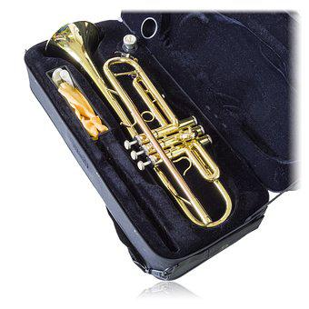 Trumpet, Music, Instrument, Isolated, Brass, Jazz