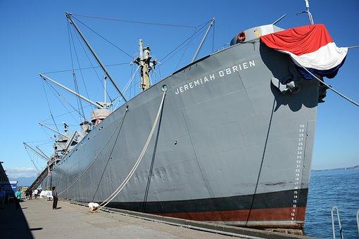 Jeremiah, Obrien, Boat, Army, Ship, Marine, Vessel