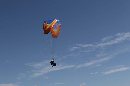 Paragliding, Paraglider, Air, Sports, Fly, Outdoor