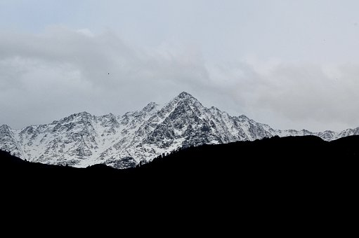 Mountain, Snow, Landscape, Nature, Winter, Outdoors