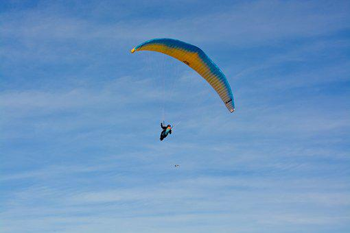 Paragliding, Paraglider, Ozone Wing Rush5