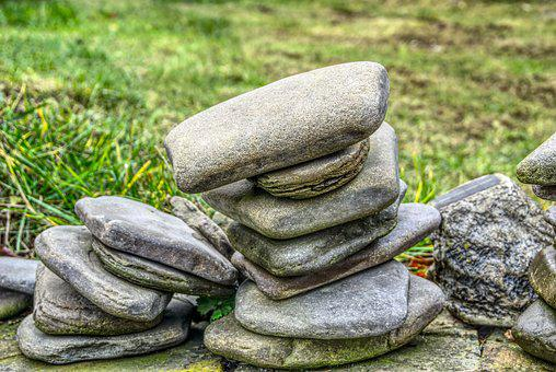 Stones, Stack, Stacked, Art, Sculpture, Zen, Nature