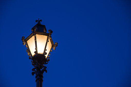 Light, Streetlight, Night, Lantern, The Lamppost