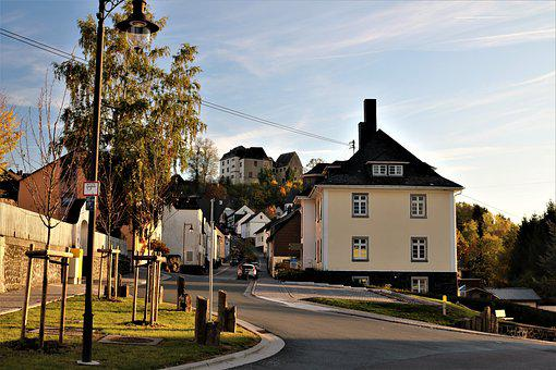 Westerburg, Upper Old Town, Road, Driveway, Castle